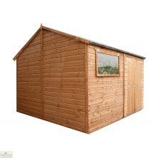 10 x 10 Pressure Treated Wood Workshop