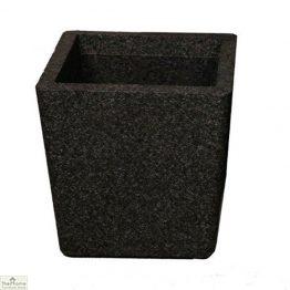 Black Conical Garden Planter
