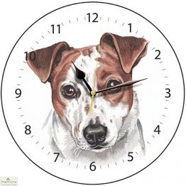 Jack Russell Dog Print Wall Clock