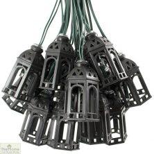 Solar Moroccan Lantern String Lights