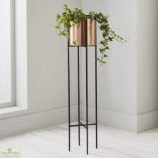 Bronze Large Plant Holder Stand