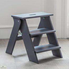 Grey Folding Kitchen Steps_1