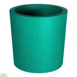 Green Round Garden Flower Pot