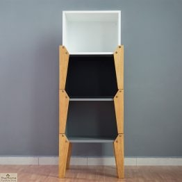 Grey Stacking Box Bedside Table_1