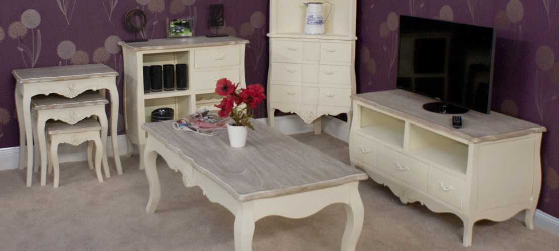 The Devon Range of Shabby Chic Furniture