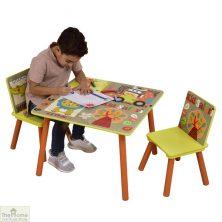Safari Table and Chairs