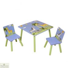 Safari Blue Table and Chairs