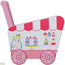 Patisserie Push Along Toy