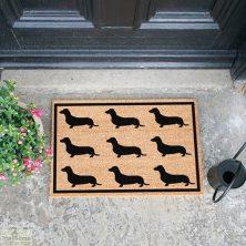 Dachshund Dog Doormat