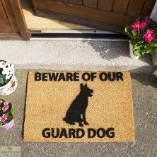 German Shepherd Doormat