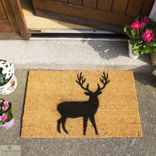 Stag Silhouette Doormat