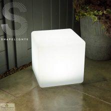 Solar LED Cube Mood Light