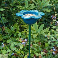 Blue Petal Bird Feeder