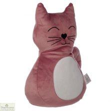 Pink Cat Doorstop