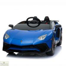 Lamborghini Aventador SV 12V Ride On Car – Blue