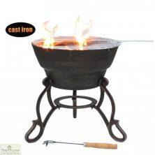Safir Cast Iron Firepit
