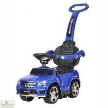 Licensed Mercedes Foot to Floor Ride on Car – Blue