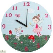 Fairy Round Wall Clock