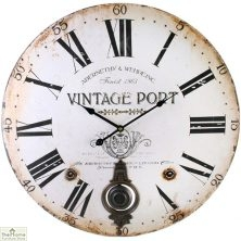 Vintage Port Pendulum Wall Clock