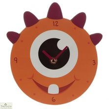 Monster Orange Wall Clock