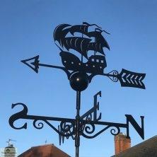 Galleon Ship Weathervane