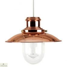 Fishermans Copper Ceiling Light