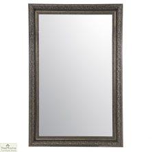 Large Antique Silver Mirror 178 x 117cm
