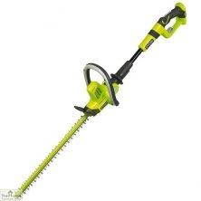 50cm Cordless Long Reach Green Hedge Trimmer