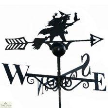 Witch & Cat Weathervane