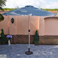 Casamoré Grey 3m LED Parasol